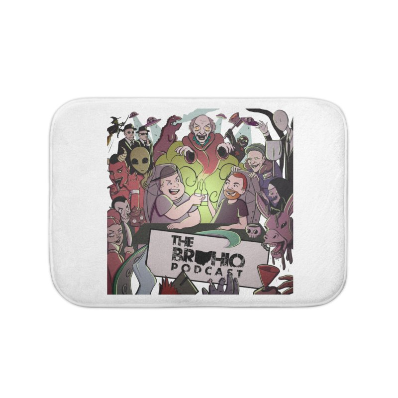 The whole gang with no background Home Bath Mat by Brohio Merch