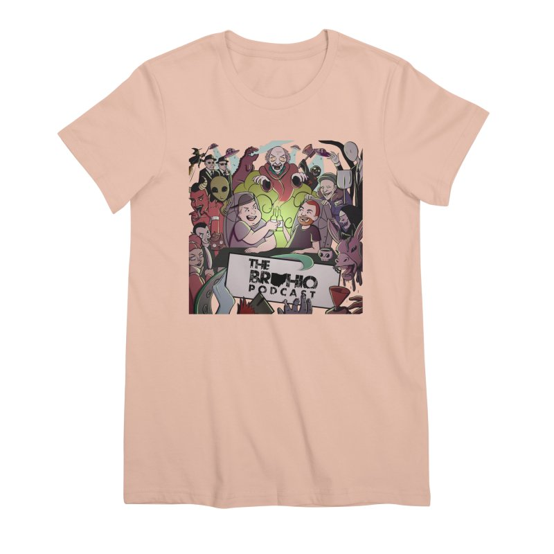 The whole gang with no background Women's Premium T-Shirt by Brohio Merch