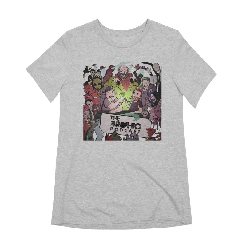 The whole gang with no background Women's Extra Soft T-Shirt by Brohio Merch
