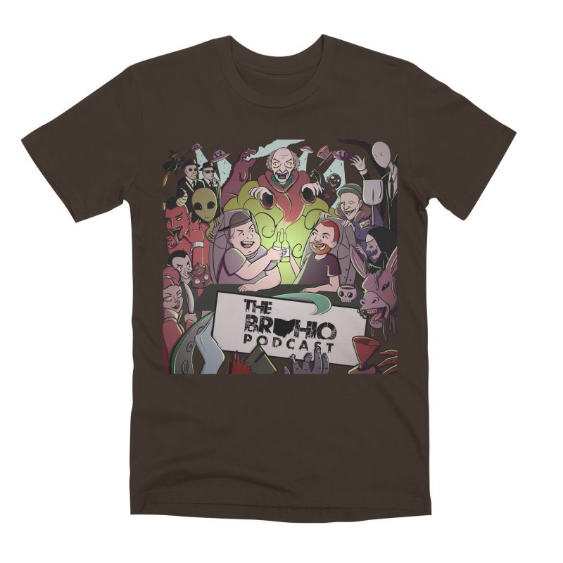 The whole gang with no background Men's T-Shirt by Brohio Merch