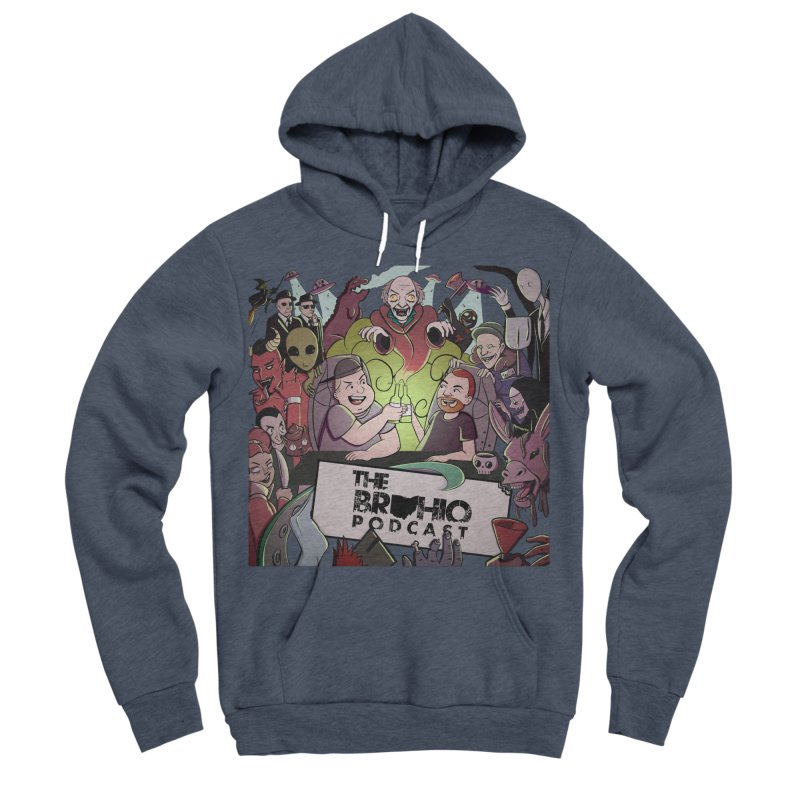 The whole gang with no background Men's Sponge Fleece Pullover Hoody by Brohio Merch