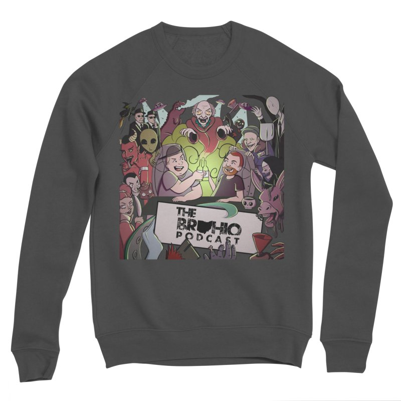 The whole gang with no background Women's Sponge Fleece Sweatshirt by Brohio Merch