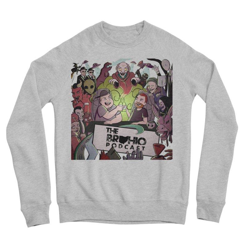 The whole gang with no background Men's Sponge Fleece Sweatshirt by Brohio Merch