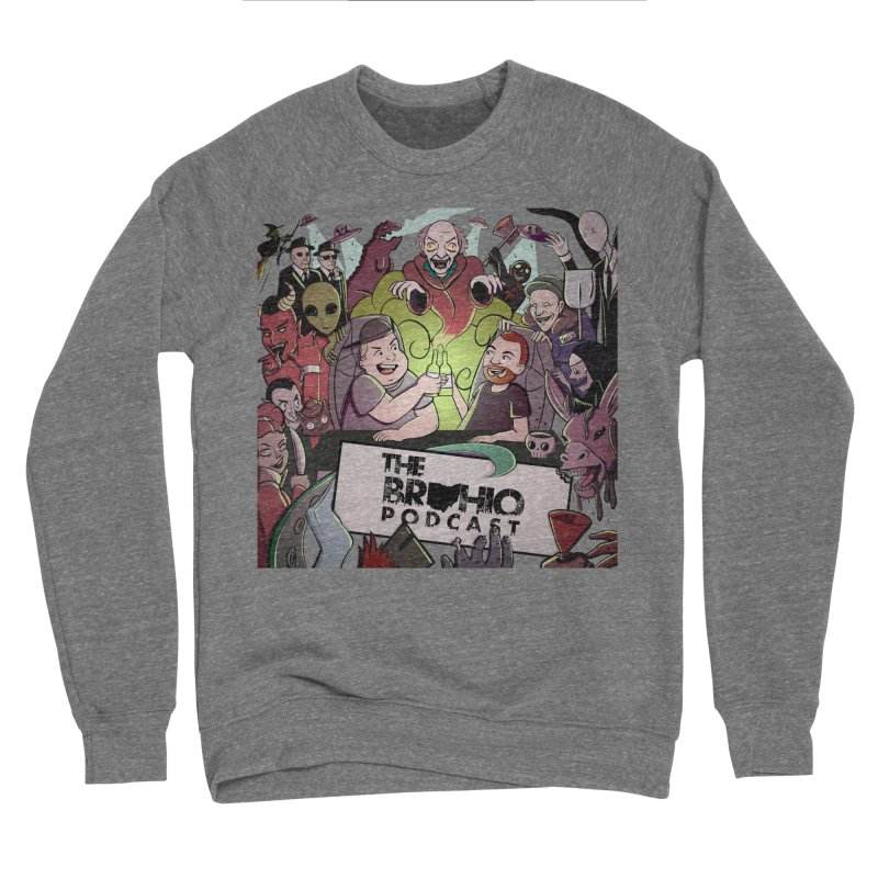 The whole gang with no background Men's Sponge Fleece Sweatshirt by Brohio Merch
