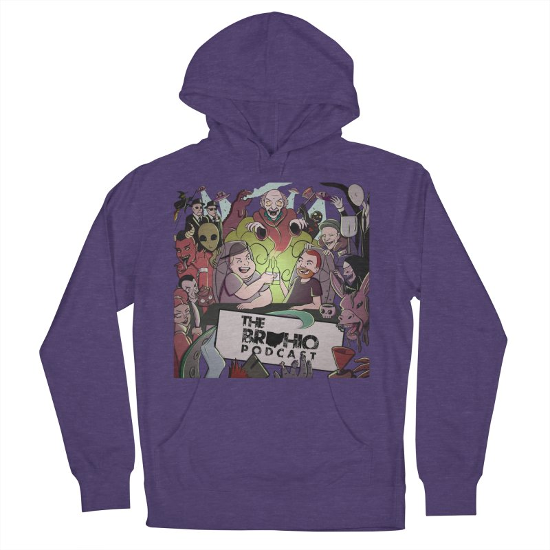The whole gang with no background Women's French Terry Pullover Hoody by Brohio Merch