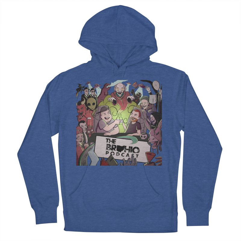 The whole gang with no background Men's French Terry Pullover Hoody by Brohio Merch
