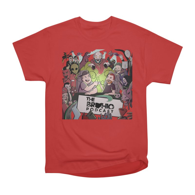 The whole gang with no background Men's Heavyweight T-Shirt by Brohio Merch