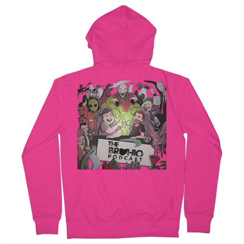 The whole gang with no background Men's French Terry Zip-Up Hoody by Brohio Merch