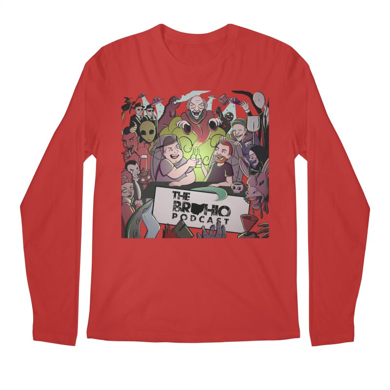 The whole gang with no background Men's Longsleeve T-Shirt by Brohio Merch
