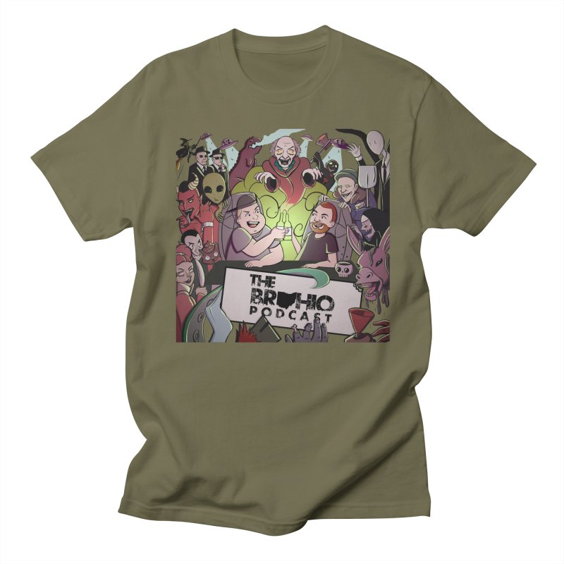 The whole gang with no background Men's Regular T-Shirt by Brohio Merch