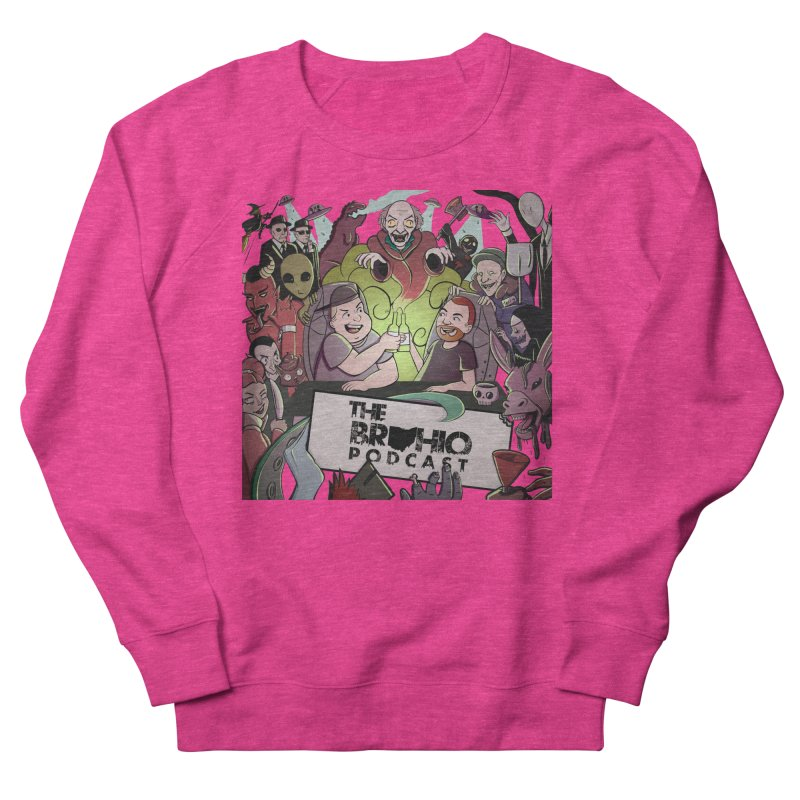 The whole gang with no background Women's French Terry Sweatshirt by Brohio Merch