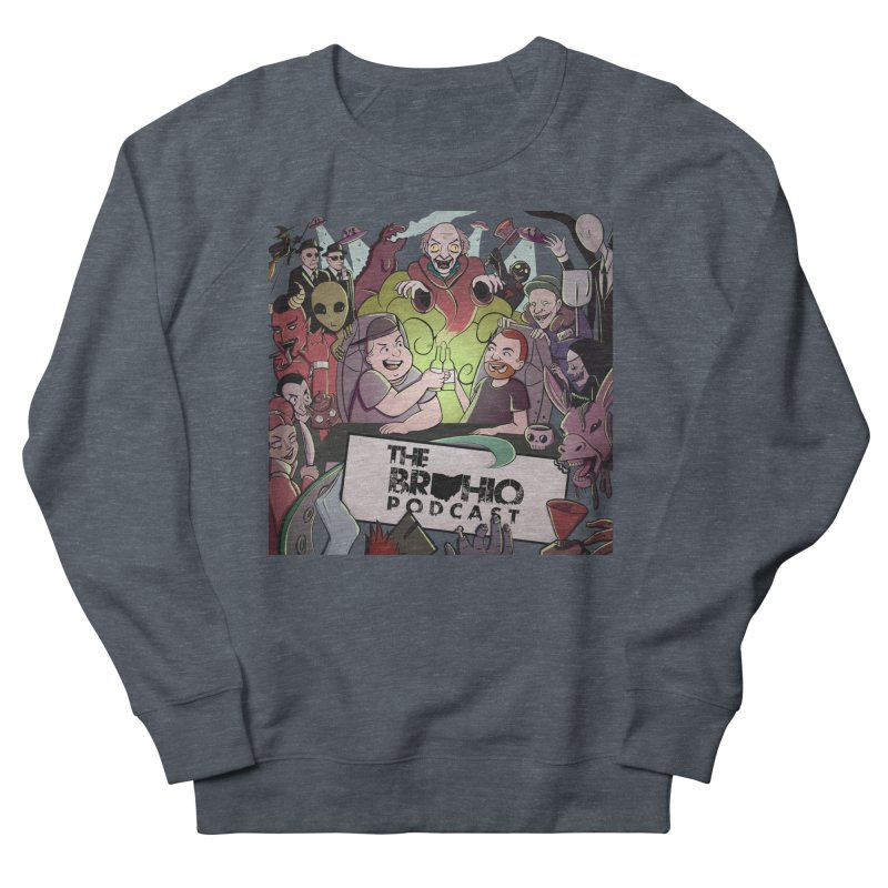 The whole gang with no background Men's French Terry Sweatshirt by Brohio Merch