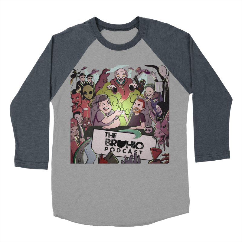 The whole gang with no background Women's Baseball Triblend Longsleeve T-Shirt by Brohio Merch