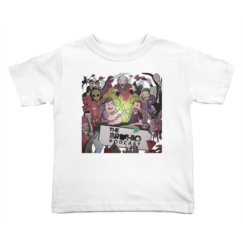 The whole gang with no background Kids Toddler T-Shirt by Brohio Merch