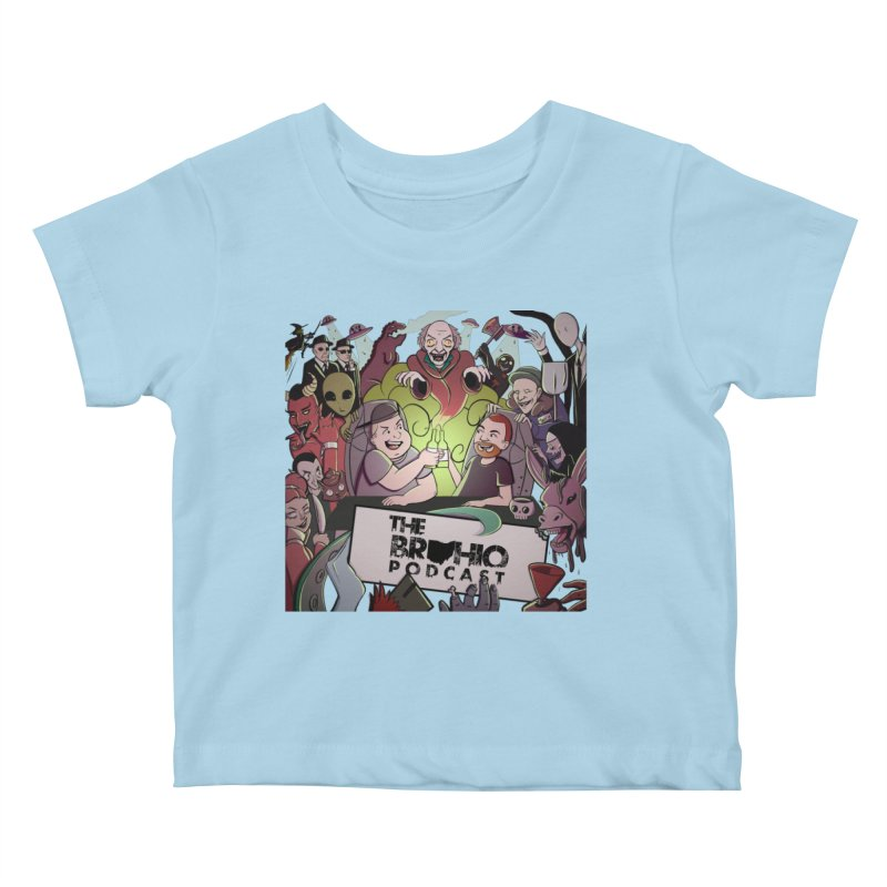 The whole gang with no background Kids Baby T-Shirt by Brohio Merch