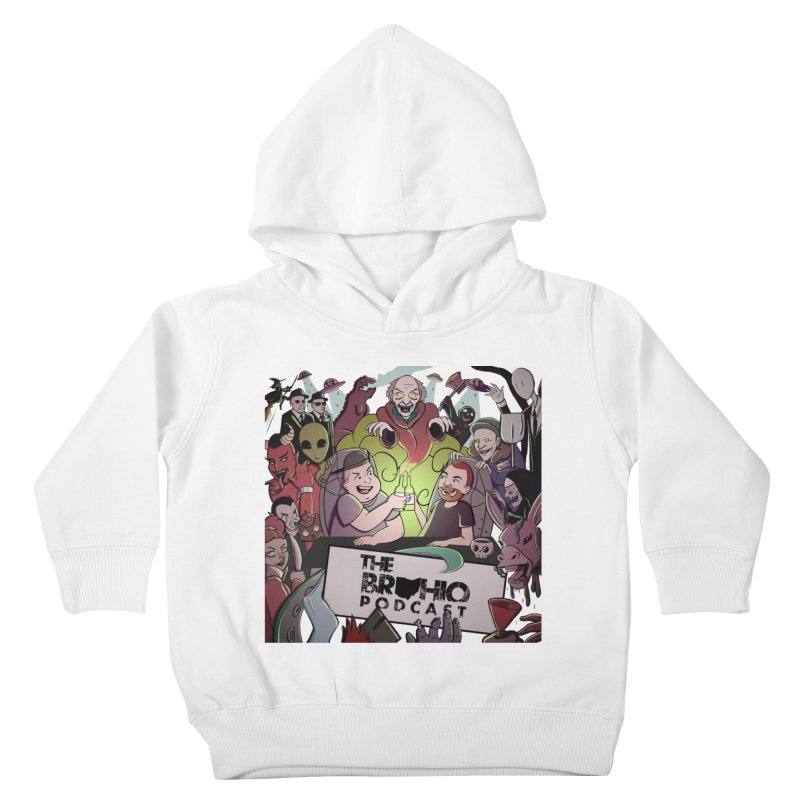 The whole gang with no background Kids Toddler Pullover Hoody by Brohio Merch