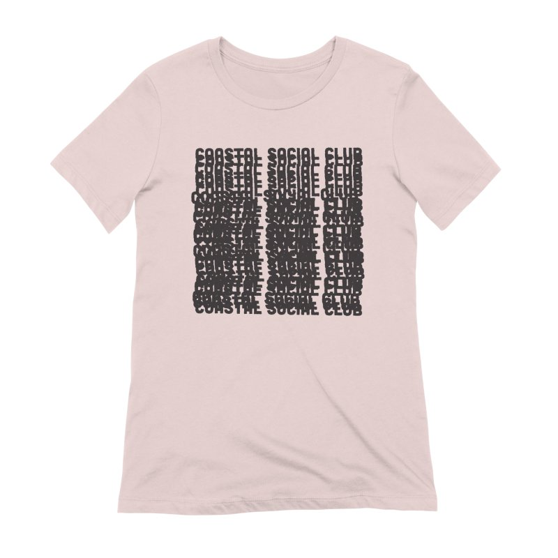 Coastal Social Club Women's Extra Soft T-Shirt by Broken & Coastal