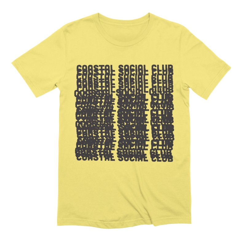 Coastal Social Club Men's T-Shirt by Broken & Coastal