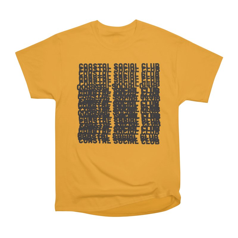 Coastal Social Club Women's Heavyweight Unisex T-Shirt by Broken & Coastal
