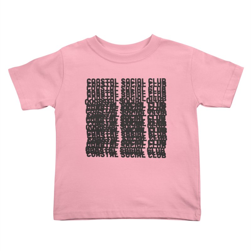 Coastal Social Club Kids Toddler T-Shirt by Broken & Coastal