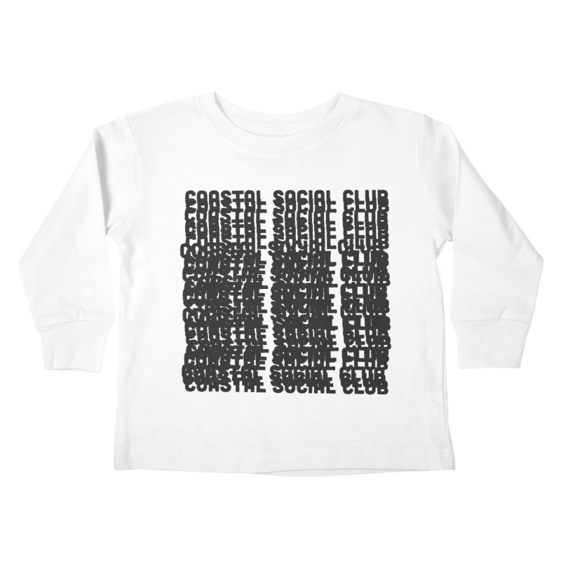 Coastal Social Club Kids Toddler Longsleeve T-Shirt by Broken & Coastal