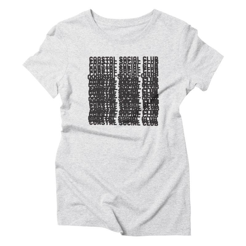 Coastal Social Club Women's Triblend T-Shirt by Broken & Coastal