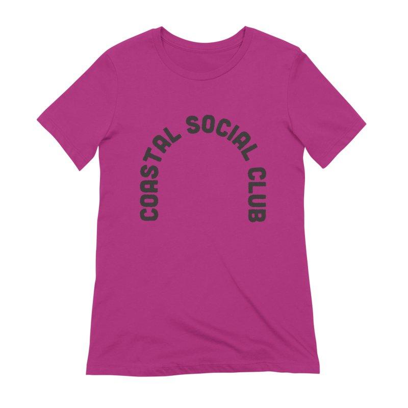 Coastal Stamp Women's Extra Soft T-Shirt by Broken & Coastal
