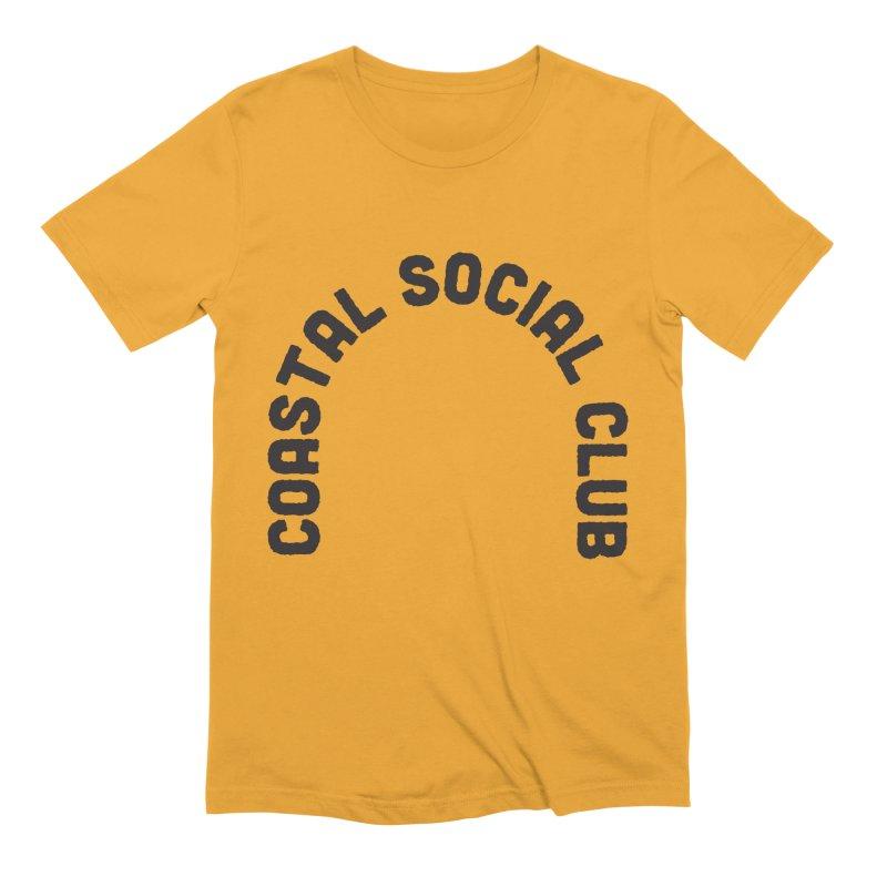 Coastal Stamp Men's Extra Soft T-Shirt by Broken & Coastal