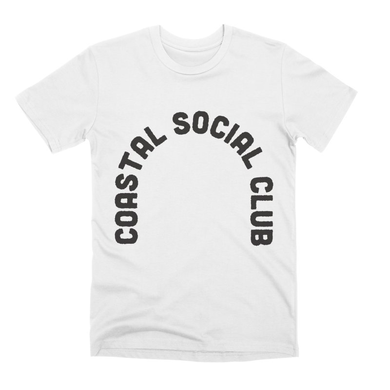 Coastal Stamp Men's Premium T-Shirt by Broken & Coastal