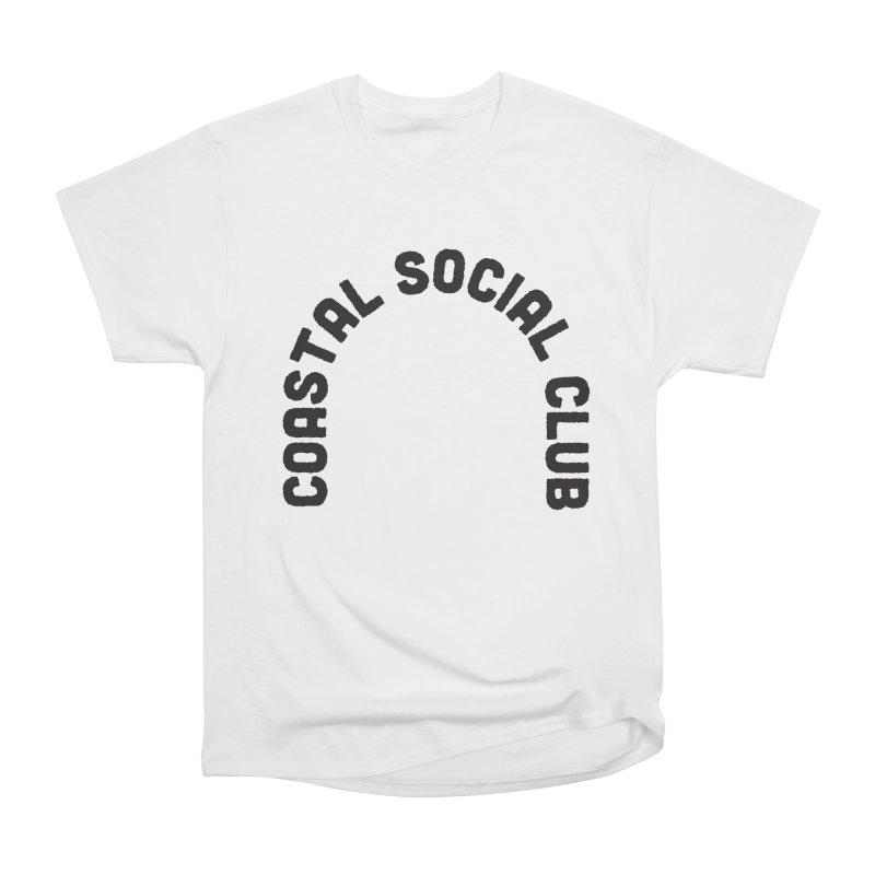 Coastal Stamp Women's Heavyweight Unisex T-Shirt by Broken & Coastal