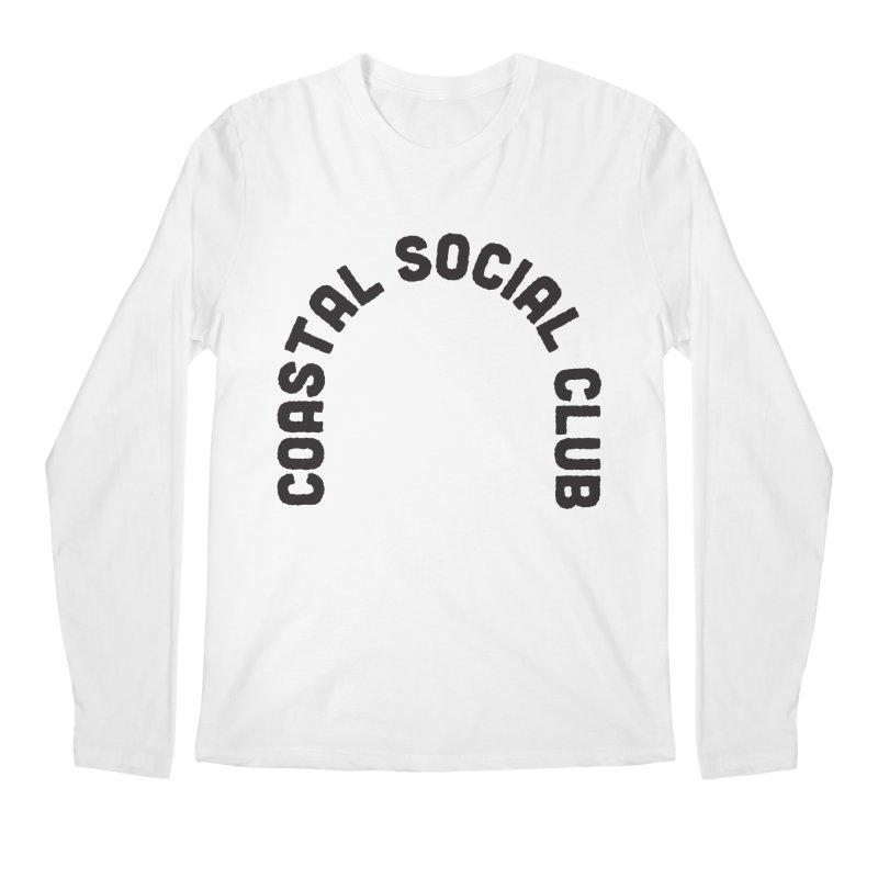 Coastal Stamp Men's Regular Longsleeve T-Shirt by Broken & Coastal