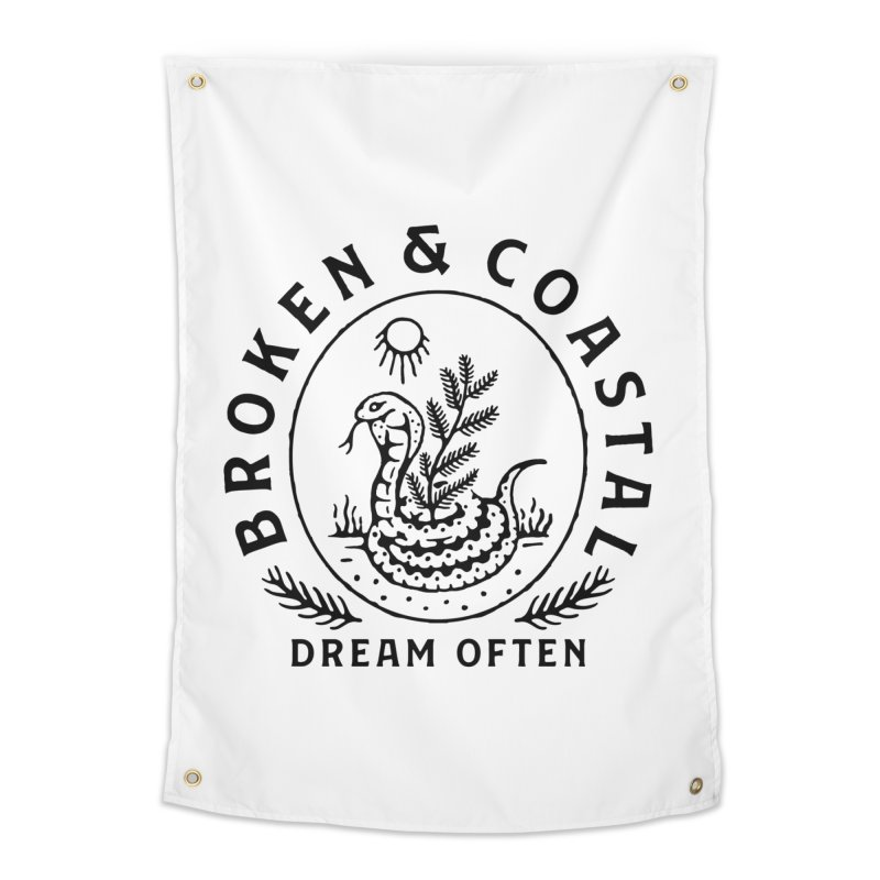 The Black Cobra Home Tapestry by Broken & Coastal