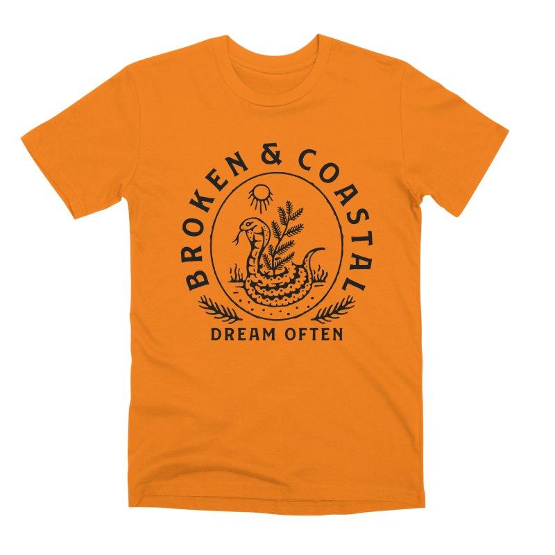 The Black Cobra Men's T-Shirt by Broken & Coastal