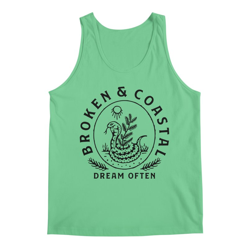The Black Cobra Men's Regular Tank by Broken & Coastal