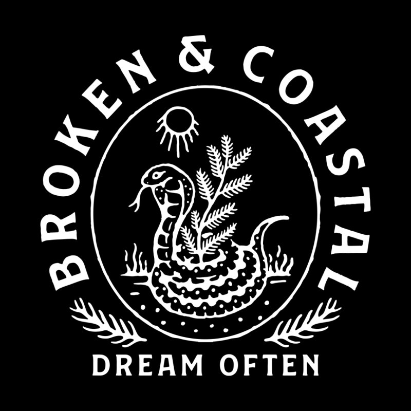 The White Cobra Men's Sweatshirt by Broken & Coastal