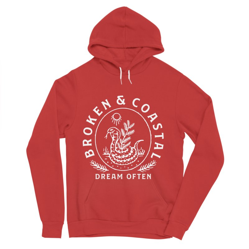The White Cobra Men's Pullover Hoody by Broken & Coastal