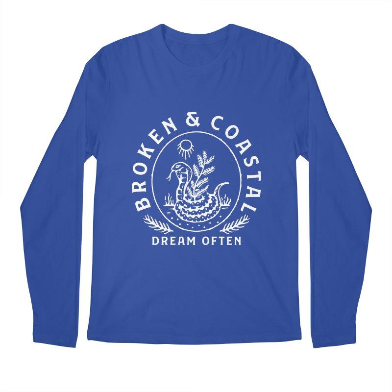 The White Cobra Men's Regular Longsleeve T-Shirt by Broken & Coastal