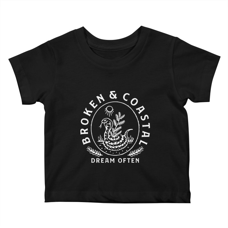 The White Cobra Kids Baby T-Shirt by Broken & Coastal