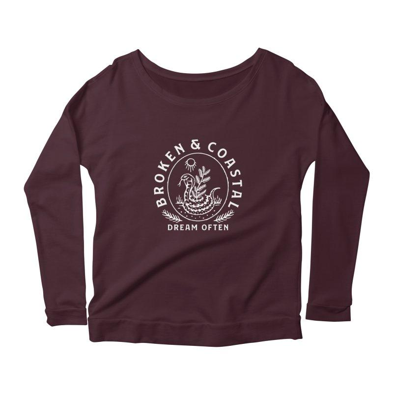 The White Cobra Women's Longsleeve T-Shirt by Broken & Coastal