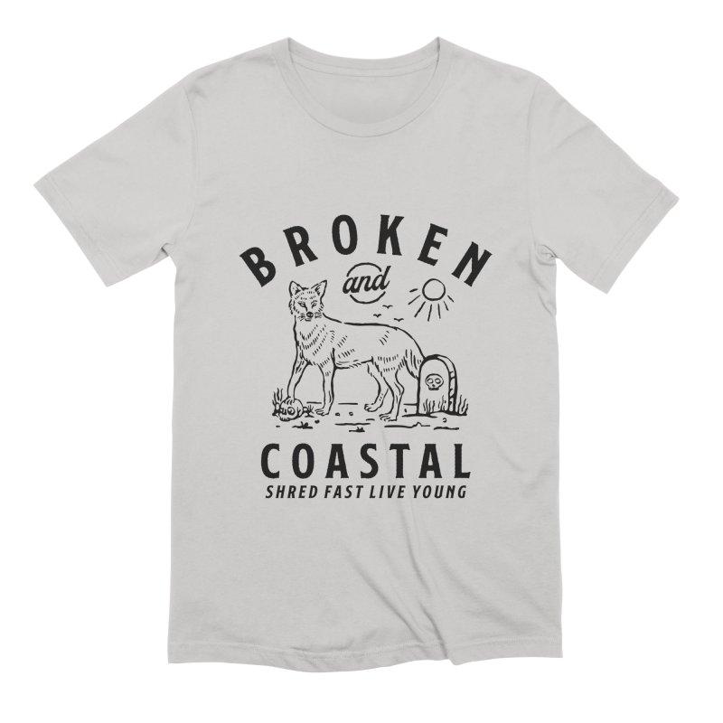 The Black Fox Men's Extra Soft T-Shirt by Broken & Coastal