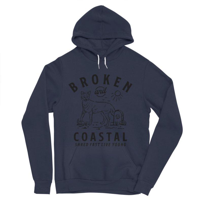 The Black Fox Women's Sponge Fleece Pullover Hoody by Broken & Coastal