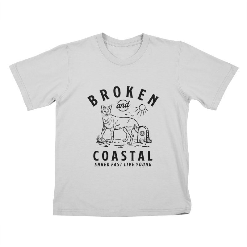The Black Fox Kids T-Shirt by Broken & Coastal