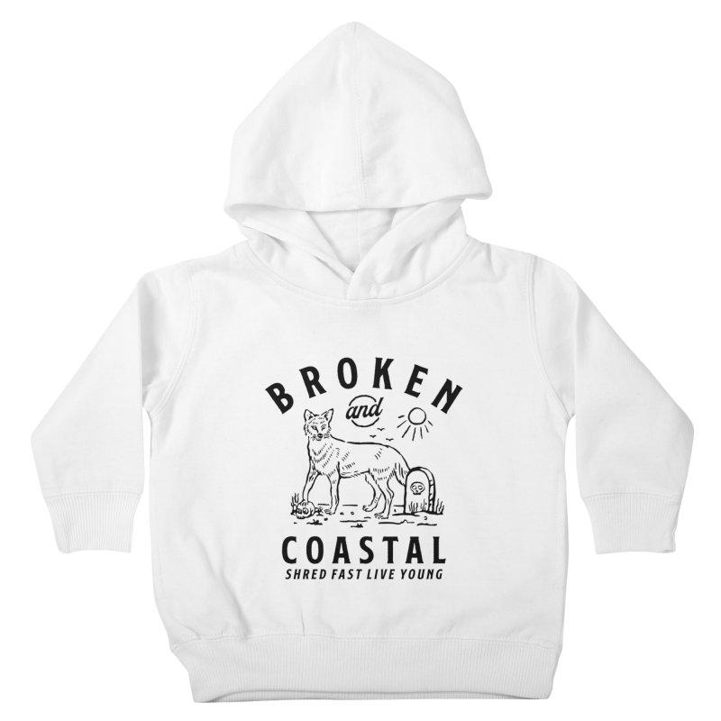 The Black Fox Kids Toddler Pullover Hoody by Broken & Coastal