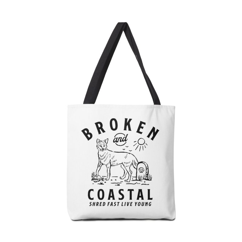The Black Fox Accessories Bag by Broken & Coastal
