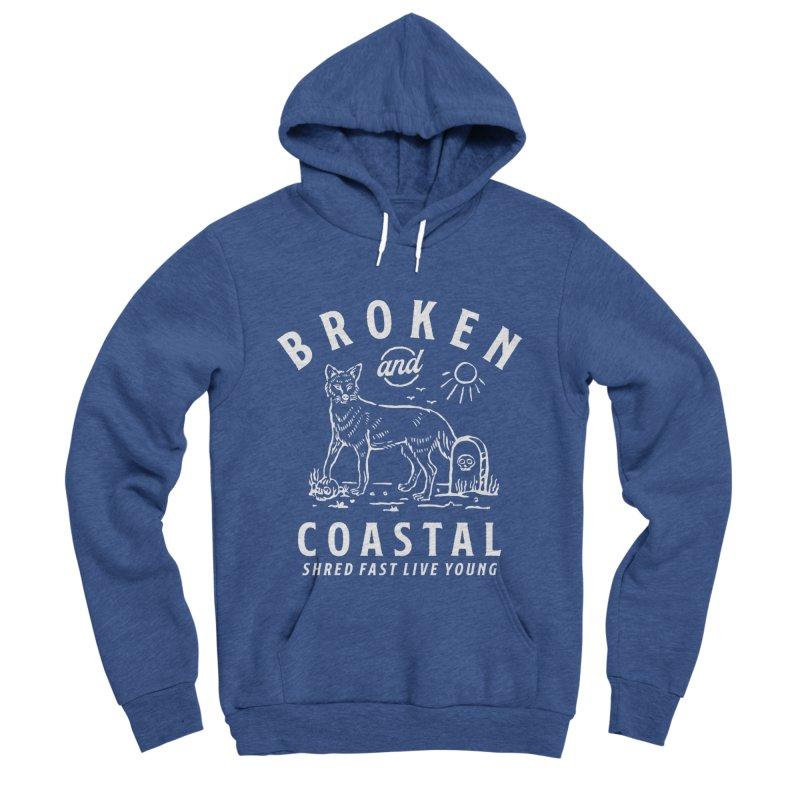 The White Fox Women's Pullover Hoody by Broken & Coastal