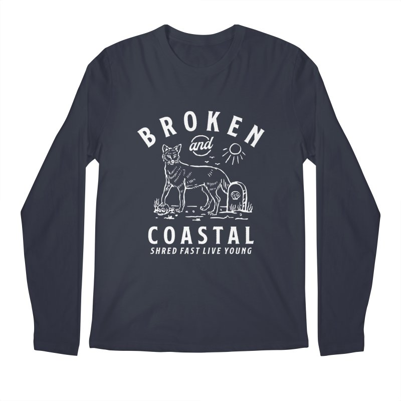 The White Fox Men's Longsleeve T-Shirt by Broken & Coastal