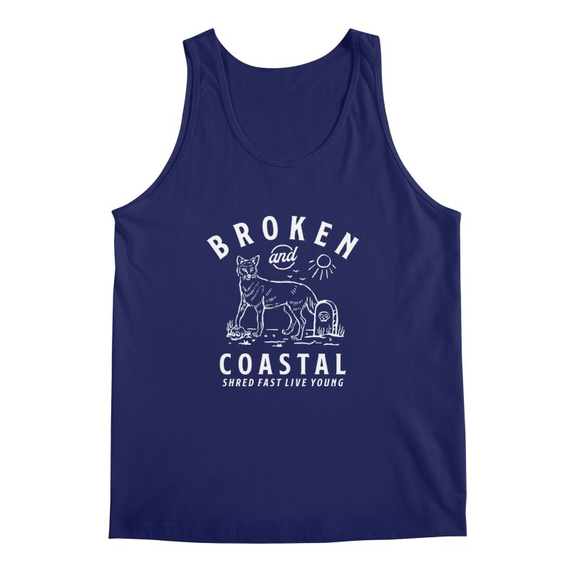 The White Fox Men's Regular Tank by Broken & Coastal