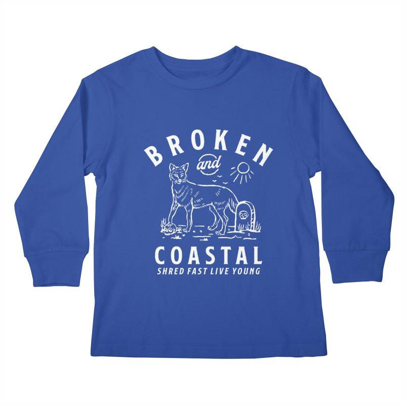 The White Fox Kids Longsleeve T-Shirt by Broken & Coastal