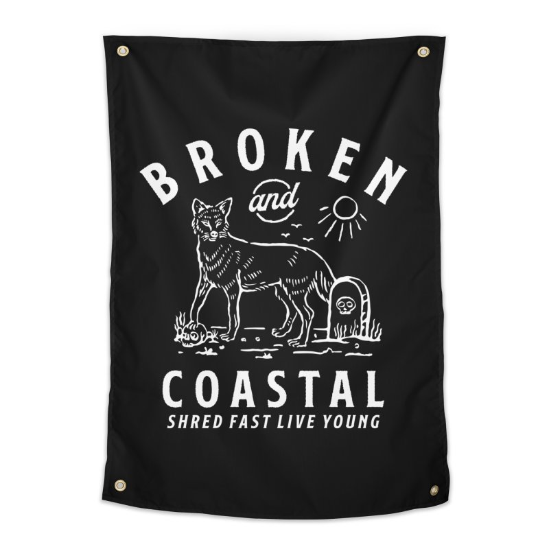 The White Fox Home Tapestry by Broken & Coastal