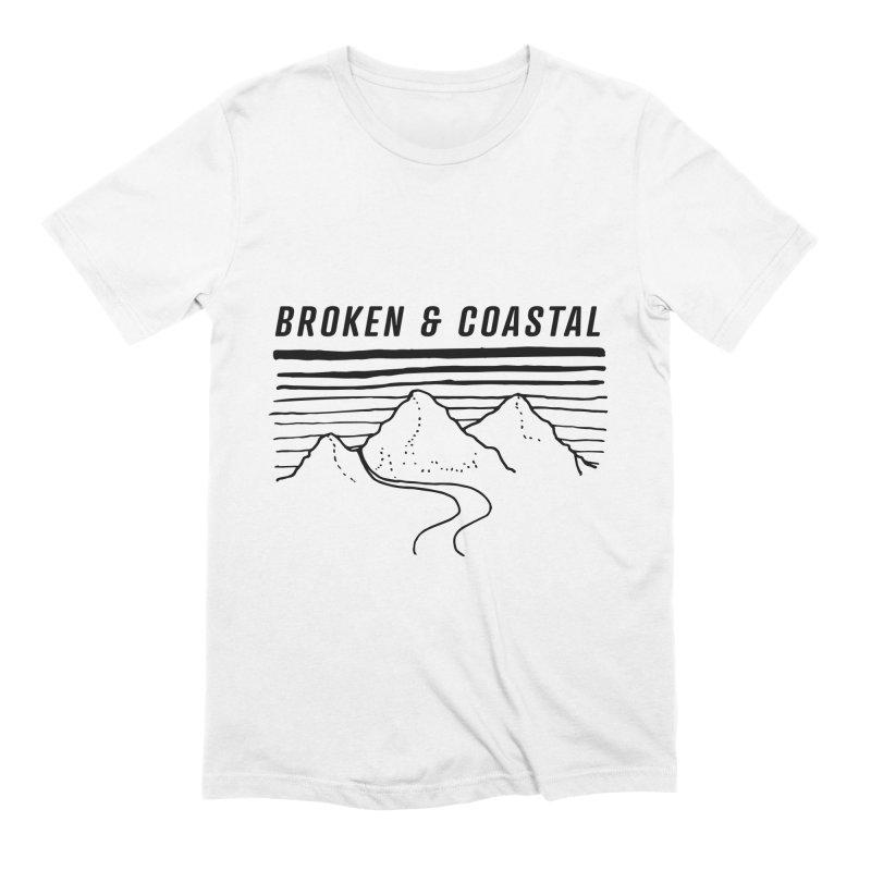 The Black Mountains Men's Extra Soft T-Shirt by Broken & Coastal